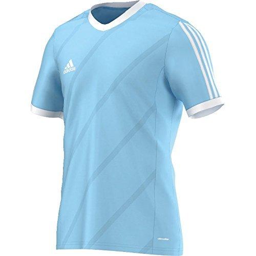 adidas Tabe 14 JSY - Camiseta para Hombre, Color Azul Claro/Blanco, Talla 128
