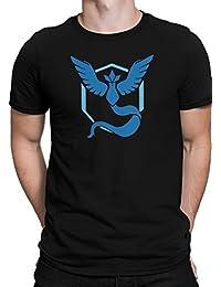 Pokémon Team Weisheit (Blau) / Arktos / Pokémon GO / Team Mystic / Leader Blanche / Größe XS-5XL / Ideales Geschenk / Premium T-Shirt