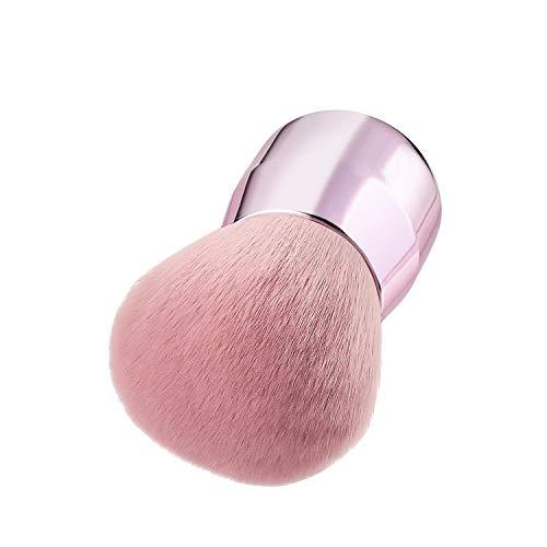 SHENYUAN-Makeup brush Spazzola in polvere sciolto testa di fungo stile Maiden Spazzola portatile grande for trucco Spazzola for arrossire polvere di miele in polvere Una (Color : Rose Gold)
