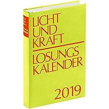 Licht und Kraft/Losungskalender 2019 Reiseausgabe in Monatsheften: Andachten über Losung und Lehrtext