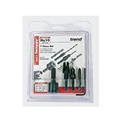 Trend Snap/Pc10/Set Trend Snappy Plug Cutter No 10 Screw Set