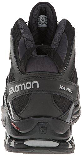 Salomon Xa Pro Mid Gtx, Bottines de randonnée homme Noir - Schwarz (Black/Asphalt/Pewter)