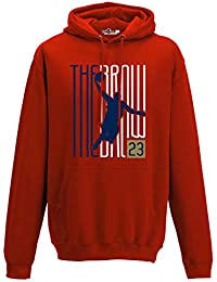 Sudadera con Capucha Hoodie The Brow 23 Writers New Orleans 2 S red