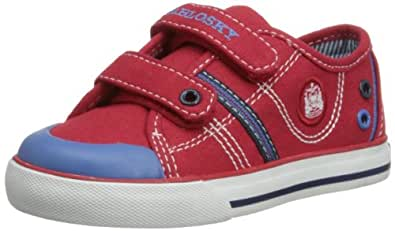 Pablosky Boys Low-Top 916060 Red 4 UK Child, 20 EU, Regular