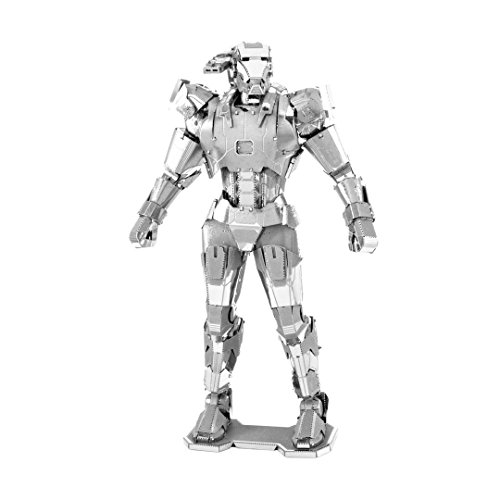 Fascinations Metal Earth MMS323 - 502643, Marvel Avenger War Machine, Konstruktionsspielzeug, 3 Metallplatinen, ab 14 ()