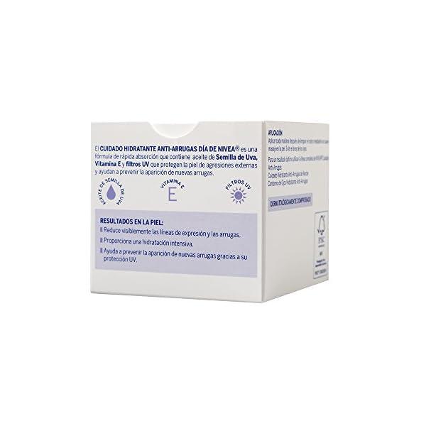 NIVEA – Hidratante Anti-Arrugas – Crema para cuidado de día – 50 ml