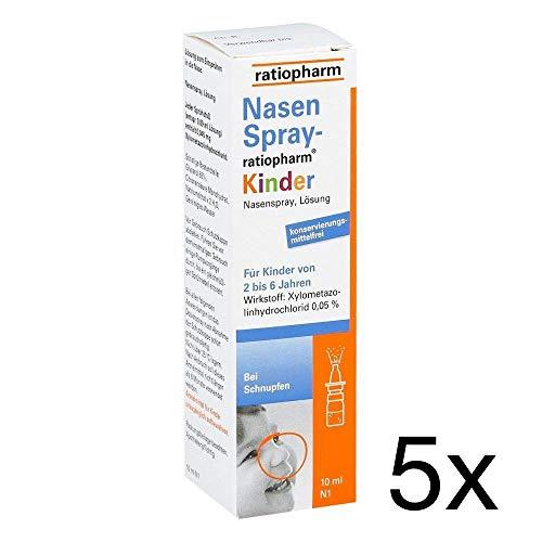 Nasenspray Ratioharm Kinder 5x10ml Sparset inklusive einer Handcreme von vitenda.de