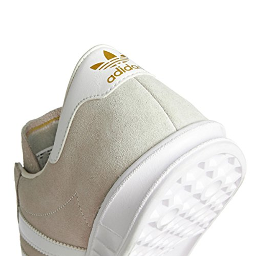 adidas Hamburg, Scarpe da Ginnastica Basse Unisex – Adulto, Taglia Unica White/Pearl Grey