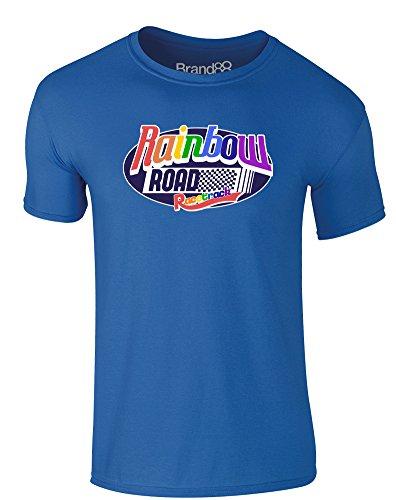 rwachsene Gedrucktes T-Shirt - Königsblau L = 104-109 cm ()