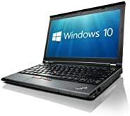 Lenovo X230 (12in Laptop) [Intel Core i5 3320M 2.60GHz, 8GB Memory, 256GB SSD,with Windows 10 Professional (Re