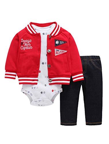 ARAUS Baby Outfit Kleidung Set Spielanzug Frühling Baumwolle Bodysuit Herbst Romper Overall Kapuzenpullover 3-24 Monate