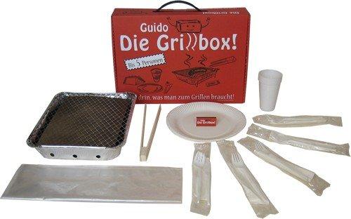4152Gfbph2L - Guido Die Grillbox Einweggrill - 31-teilig für 5 Personen