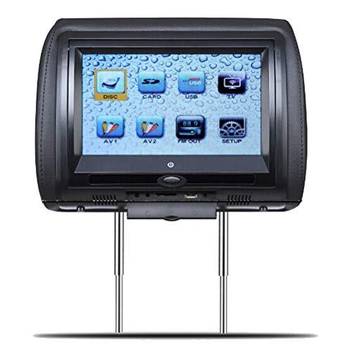 9inch Universal Headrest DVD Player Car Digital Screen Monitor Automobile mit USB SD MP5 VCD CD MP3 MP4 JPEG TV Screen-digital-tv