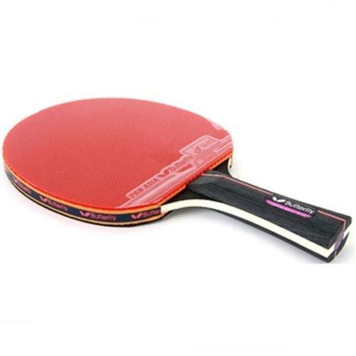 Ping Pong Butterfly Tischtennis Paddel Schläger Bat Shake Hand Grip Bratpfanne asia-s10