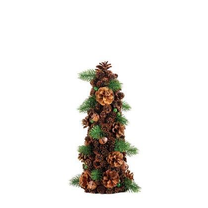 Small Pine Cone Christmas Tree Decor