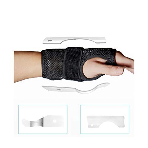 Haitao Small Mall Handgelenkbandage Verstauchung Gelenkbandage Handschellen Set Mantel Mantel Unterstützung für Schmerzen Tendinitis Verstauchung Bruch Arthritis Luxation,righthand,S -