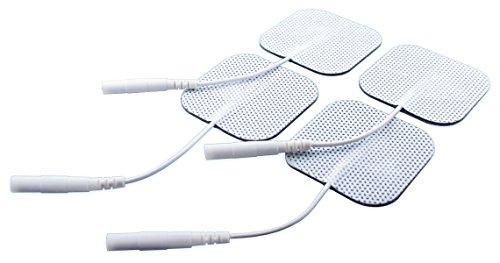 Prorelax 39183 - Almohadillas de electrodos reutilizables para TENS + EMS Duo