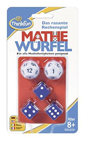 Ravensburger 76317 ThinkFun Mathe Würfel Spiel - Smart Game