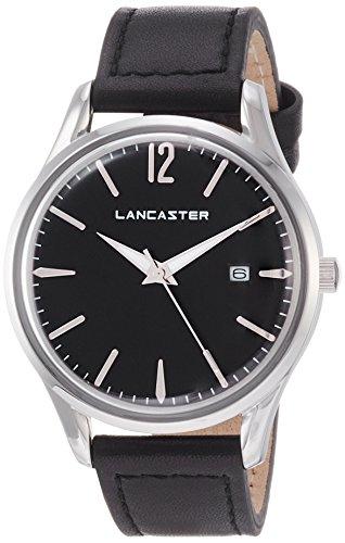 """Lancaster Paris """"Heritage"""" reloj de pulsera negro mujer"""
