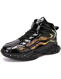 Qianliuk Bambini Inverno Warm Leather Trainers Ragazzi Scarpe da Basket  Suola Antiscivolo Scarpe da Ginnastica per 1b265c0dc66