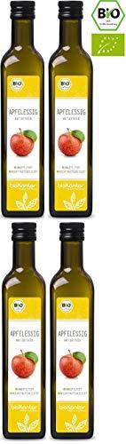 Apfelessig naturtrüb BIO - rein, unverarbeitet, ungefiltert mit Essigmutter - bioKontor - 2000ml