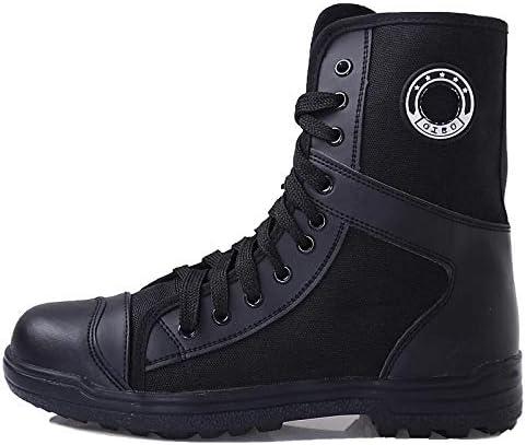 HCBYJ scarpa Scarpe da da da Allenamento Nere a Vita Alta, Scarpe Speciali da Allenamento tattili B07MQ15H8V Parent | ecologico  | Materiali selezionati  876d72