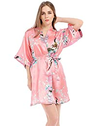 design di qualità 70964 9e021 Amazon.it: fiori - Vestaglie e Kimono / Pigiami e camicie da ...