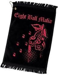 Eight Ball Mafia Towel - 02 by Action Eight Ball Mafia Cues