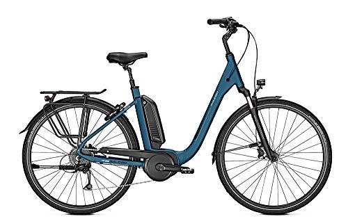 RALEIGH Kingston 9 Freilauf 13,4Ah E-Bike Cityrad Elektrofahrrad horizonblue matt 2019 RH 50 cm / 28 Zoll