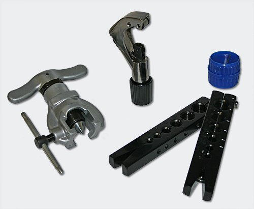 Bördelgerät Winkelbieger für metrische und zöllige Rohre -