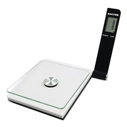 Salter 1054 WHBKDR Digitale Küchenwaage Weiß, Schwarz