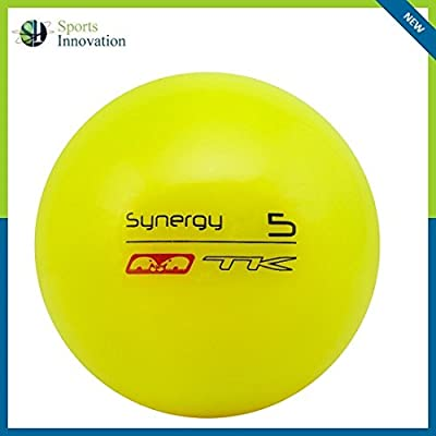 Bola de Hockey TK S5 Indoor Serie Synergy Amarilla
