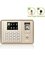 ZKTeco TFT LCD Display Biometric Fingerprint Recorder Employee Attendance Time Clock + ID Card Reader + TCP/IP + USB