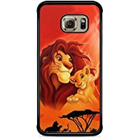 coque samsung s7 edge roi lion