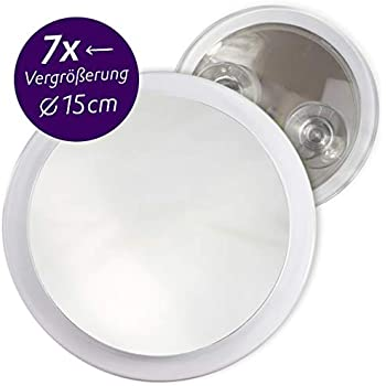 Fantasia 7x Cosmetic Magnifying Mirror Portable Travel