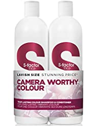 Tigi S-FACTOR Tween Duo Shampoo and Conditioner True Lasting Colour, 1er Pack (1 x 1500 ml)