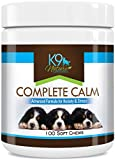 Dog Calming Treats Complete Calm Supplement for Reducing Stress & Separation Anxiety in Dogs 100 Natural Soft Chews