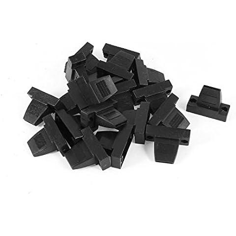 20 piezas de plástico Carcasa Protector para conector DB9 9 pin