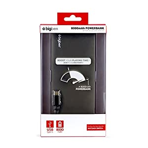 Nintendo Switch – Powerbank 8000mAh inkl. Ladekabel (USB A auf USB C)