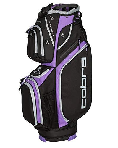 Cobra Ultralight Cart Bag/Golfbag Schwarz/Violett Puma Golftasche 909264, Farbe:Schwarz/Lila -