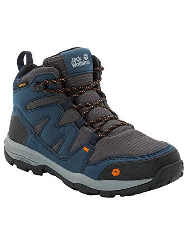 Jack Wolfskin Unisex-Kinder MTN Attack 3 Texapore Mid Trekking-& Wanderstiefel, Blau (Night Blue 1010), 35 EU
