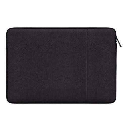 "HONGBI 11-15.6 Zoll Laptop Sleeve Case Notebook Hülle Beutel Schutzhülle Tasche Schutzabdeckung für MacBook Pro/Microsoft Surface Book Schwarz 11\"""