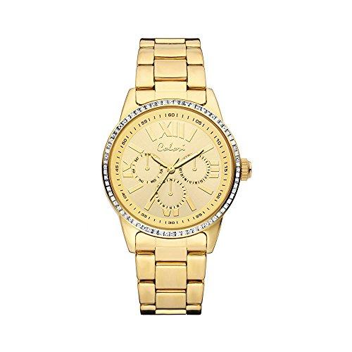 Colori Watch Colori Watch Damenuhr Supreme Zirkonia Metallarmband Ø 40mm