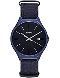 26d4f9534fee Reloj Rado True de Hombre en cerámica Azul y Correa de Nylon R27235206.