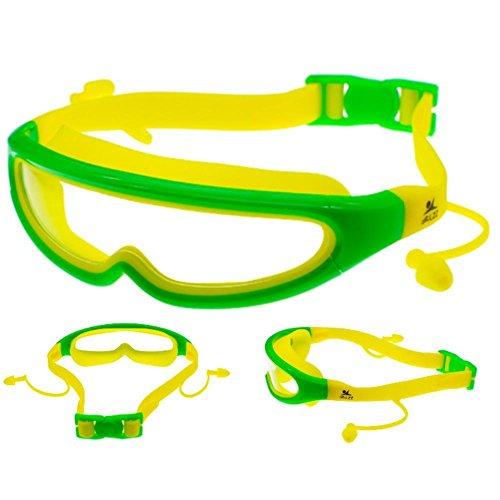 Yomeni polarisées Lunettes de sport pour hommes femmes Cyclisme d'équitation Course Conduite Pêche, protection UV 400, Black&Yellow Frame