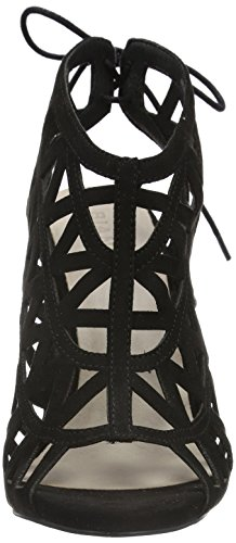 Bianco Damen Cutout Stiletto Sandal 35-48921 Pumps Schwarz (10/Black)