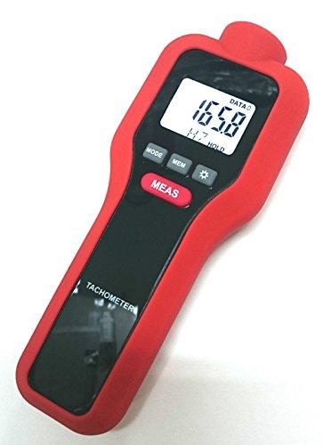 Perfect premier Contact/Non Contact Laser Photo Digital LCD Compte-tours et indicateur de vitesse de moteur tr/min - 2 en 1