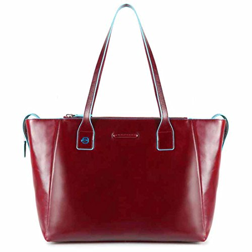 Piquadro Blue Square shopping bag con scomparto porta iPad®Air/Pro 9,7 - BD3883B2 (Rosso)