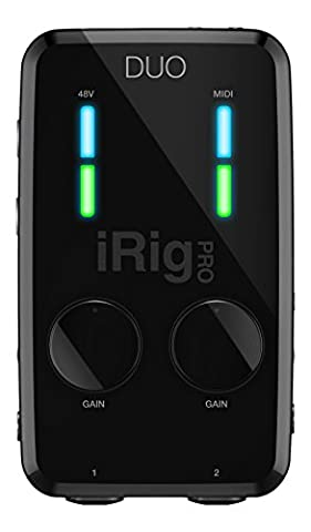 IK Multimedia iRig Pro Duo Portable Universal 2 Channel Mobile