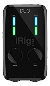 IK Multimedia iRigProDuo Interface de modelisation Noir